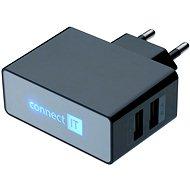 CONNECT IT CI-153 Dual Charger 230V černá