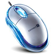 CONNECT IT CI-64 Optical mouse silver