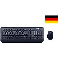 CONNECT IT CI-462 Multimedia mit deutscher Tastenbelegung - Tastatur/Maus-Set