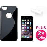 CONNECT IT S-Cover iPhone 6 čierne - Puzdro na mobilný telefón