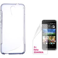 CONNECT WITH IT-Cover HTC DESIRE 620 clear