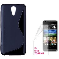 CONNECT WITH IT-Cover HTC DESIRE 620 schwarz
