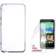 CONNECT WITH IT-Cover HTC DESIRE 820 clear