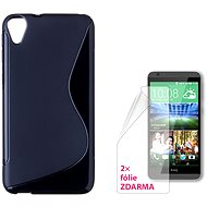 CONNECT WITH IT-Cover HTC DESIRE 820 schwarz