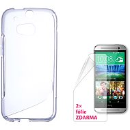 CONNECT IT S-Cover HTC One M8 / M8s clear - Mobile Phone Cases