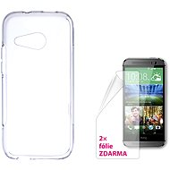 CONNECT WITH IT-Cover HTC One Mini 2 clear