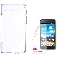 CONNECT WITH IT-Cover HUAWEI Y530 clear