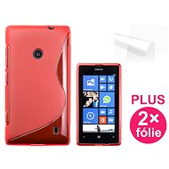 CONNECT IT S-Cover Nokia Lumia 520 rot