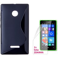 CONNECT WITH IT-Cover Microsoft Lumia 532 black