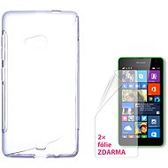CONNECT WITH IT-Cover Microsoft Lumia 535 clear