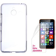 CONNECT WITH IT-Cover Microsoft Lumia 640 XL / XL LTE 640/640 XL Dual SIM clear