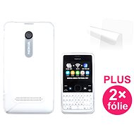 CONNECT IT S-Cover Nokia Asha 210 deutlich
