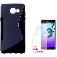 CONNECT IT S-Cover Samsung Galaxy A5 2016 (SM-A510F) schwarz - Handyhülle