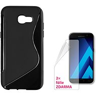 CONNECT IT S-Cover Samsung Galaxy A5 (2017, SM-A520F) čierne