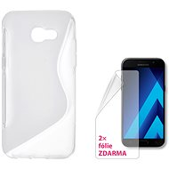CONNECT IT S-Cover Samsung Galaxy A3 (2017, SM-A320F) číre