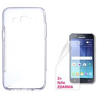 CONNECT IT S-Cover Samsung Galaxy J5/J5 Duos 2015 (SM-J500F) klar