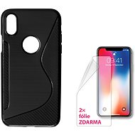 CONNECT IT S-COVER pro Apple iPhone X černé