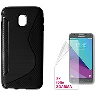 CONNECT IT S-COVER pro Samsung Galaxy J3 (2017, SM-J330F) černé