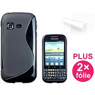 CONNECT IT S-Abdeckung Samsung Galaxy Chat (B5330) schwarz