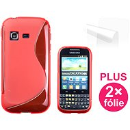 CONNECT IT S-Cover Samsung Galaxy Chat (B5330) Red