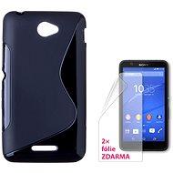 CONNECT IT S-Cover Sony Xperia E4 čierne
