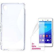 CONNECT IT S-Cover Sony Xperia M4 Aqua číre - Puzdro na mobilný telefón