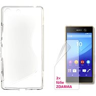 CONNECT IT S-Cover Sony Xperia M5 číre