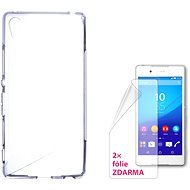 CONNECT IT S-Cover Sony Xperia Z3 + číre - Puzdro na mobilný telefón