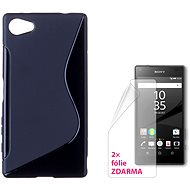 CONNECT IT S-Cover Sony Xperia Z5 Compact černé