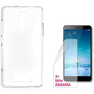 CONNECT IT S-Cover Xiaomi Redmi Note 3 čiré - Ochranný kryt