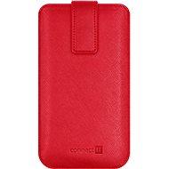 CONNECT IT U-COVER vel. XL, červené - Pouzdro na mobilní telefon