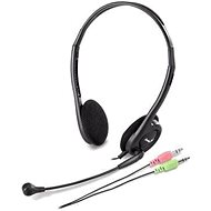 Genius HS-200C Dual Jack - Headphones with Mic