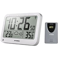 Hyundai WS 2331 metallic silver - Weather Station