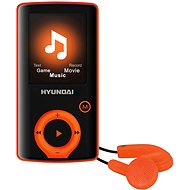 Hyundai MPC 883 FM 4GB orange - MP4 Player