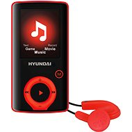 Hyundai MPC 883 FM 8GB red - MP4 Player
