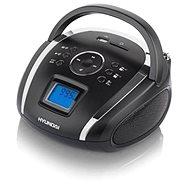Hyundai TR 1088 SU3BS černo-stříbrná - Rádio