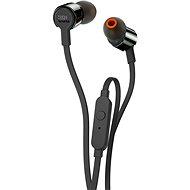 JBL T210 černá - Sluchátka s mikrofonem