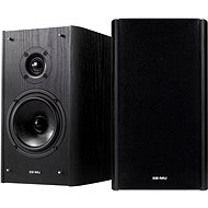 The court Creative Blaster E-MU XM7 Bookshelf Speakers - Black