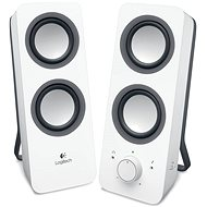 Logitech Multimedia Speakers Z200 bílé - Reproduktory