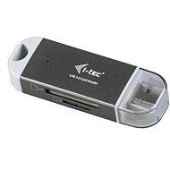 i-TEC Dual USB 3.0 Kartenleser - Kartenleser