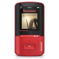 Philips ViBE SA4VBE04RF red - MP4 Player