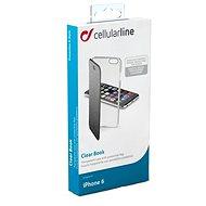 CellularLine CLEARBOOKIPH647K černé - Pouzdro na mobilní telefon