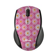 Wireless Trust Micro Mouse - pink flower - Mouse