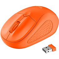 Trust Primo Wireless Mouse neon orange - Mouse