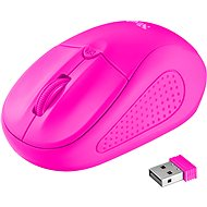 Trust Primo Wireless Mouse neon pink - myš