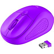 Trust Primo Wireless Mouse Neon Purple - Mouse
