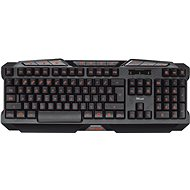 Trust GXT 280 LED Illuminated Gaming Keyboard CZ+SK - Tastatur