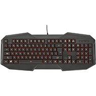 Trust GXT 830 Gaming Keyboard HU - Billentyűzet