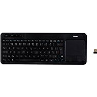 Trust Veza Wireless Touchpad Keyboard CZ + SK