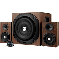 Trust Vigor 2.1 Subwoofer Speaker Set - Brown